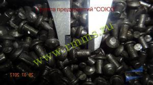 заклепки стальные 2,5 мм